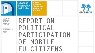Permalink to:Five new reports on political participation of mobile EU citizens