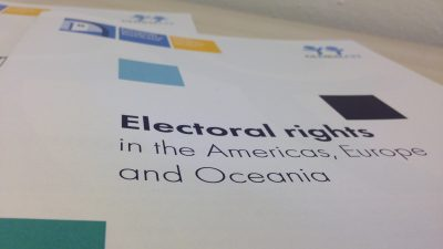 Permalink to:Conditions for Electoral Rights 2019 now live